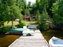 199 / (199) Baptiste Lake. Cozy cottage with great view of the lake! Good dock here & Marina on this lake!