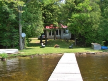 245 / (245) Elephant Lake. This cozy family cottage has good privacy, shallow swimming, dock and fishing!