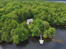 """355 / (355) """"The Pointe"""" on Eels Lake. Gorgeous Cottage, very private and surrounded by crown land."""