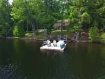 """356 / (356) """"The Cove"""" on Eels Lake. Cottage is Secluded and Private surrounded by crown land."""