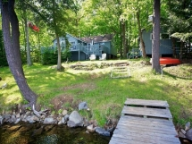 370 / (370) Steenburg Lake. Cozy 2 Bedroom cottage with large deck, and good swimming.
