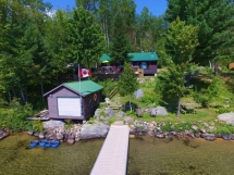 388 / (388) Great View on Papineau Lake With Sandy Walk In! Books up very quickly!