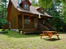 161 / (161) West Mullet Lake, Very peaceful cottage. Great privacy here! DANDER FREE cottage!