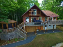 406 / (406) Luxury on Dickey Lake with a View!