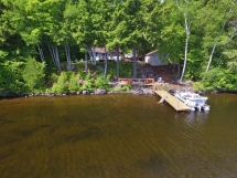 419 / (419) Kamaniskeg Lake Cottage With A Great View!