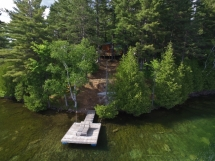 420 / (420) Mayo Lake. Newly built family cottage with amazing views on a pristine lake!
